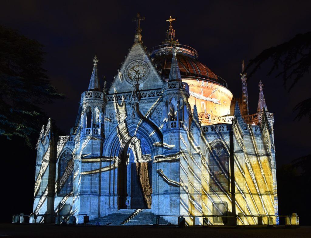 Chapelle royale de Dreux en Lumière de Verre