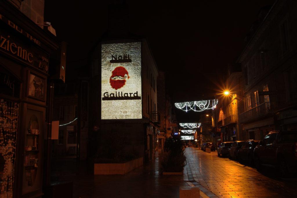 Lumière de Verre - Pignon Gambetta - Brive-la-Gaillarde - #NoelGaillard