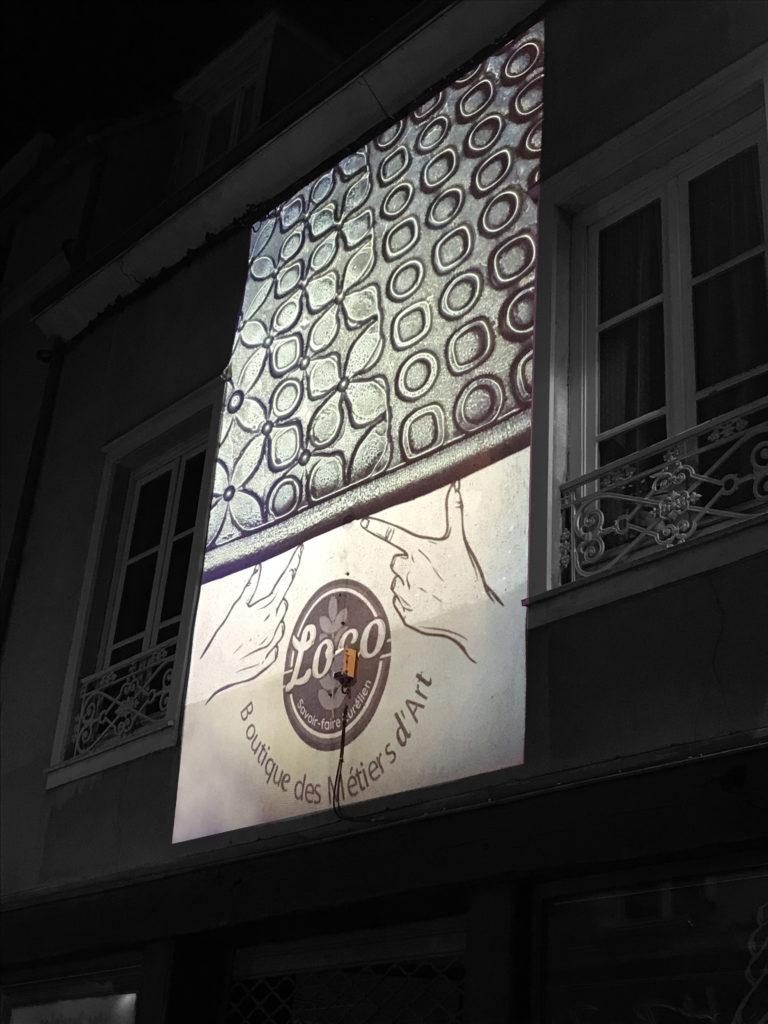 Projection de Lumière de Verre - boutique El loco