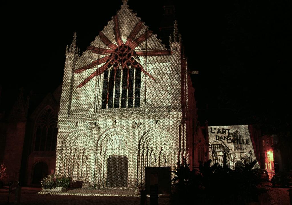 Dinan _L'art est dans la ville - Basilique Saint Sauveur Crédit : jg_Lumière de Verre www.lumdeverre.fr 2019